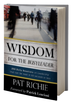 Wisdom for the BusyLeader