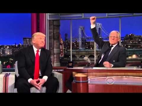 Donald Trump on the Late Show – Donald Trump with David Letterman – Donald Trump Interview