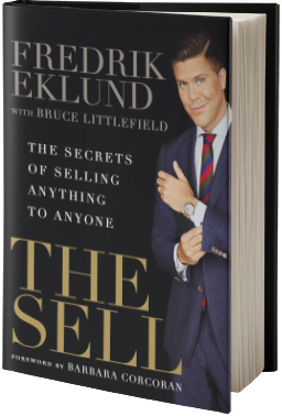 Fredrik eklund business speakers bureau speaking fee the sell the secrets of selling anything to anyone colourmoves Gallery