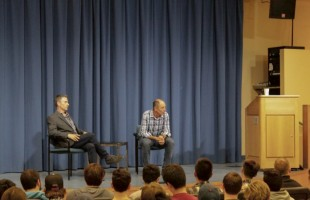 Netflix Co-Founder Talks Business at TMP Distinguished Speaker Series
