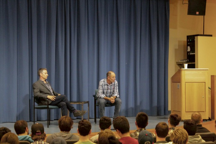 Netflix Co-Founder Talks Business at TMP Distinguished Speaker Series
