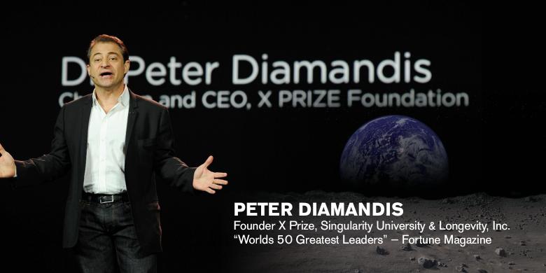 Peter Diamandis technology speaker and expert