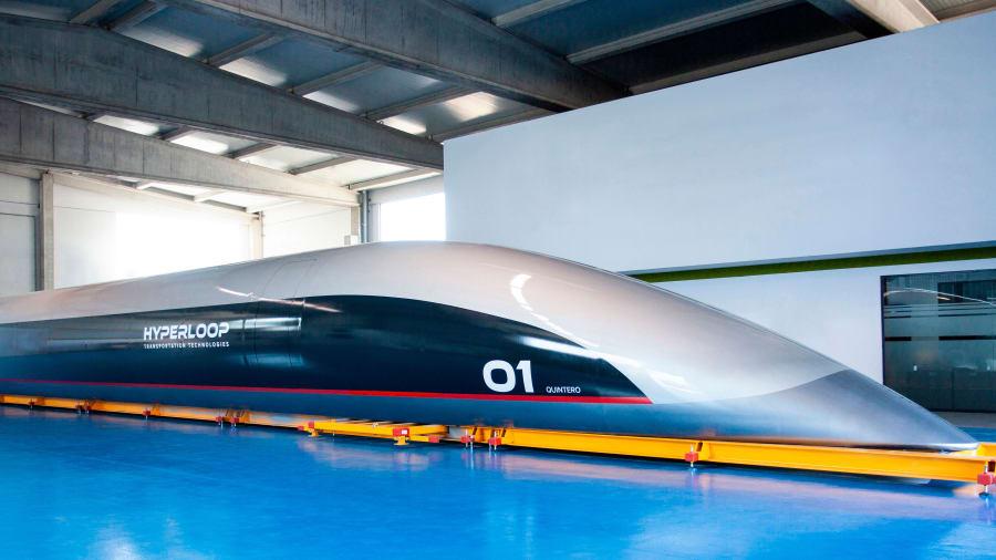 Dirk Ahlborn Dreams of Emission-Free Hyperloops