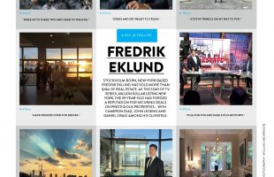 A Day in the Life of Top Real Estate Broker Fredrik Eklund