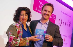 Alex Hunter Awarded Travel Blogger and Vlogger of the Year