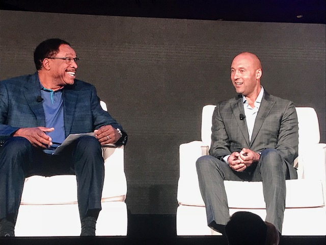 Baseball Hall of Famer Dave Winfield Chats With Derek Jeter About Success, Business, and Community Service