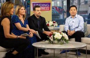Jia Jiang with Hoda Kotb, Carson Daly and Jenna Bush on NBC's Today Show