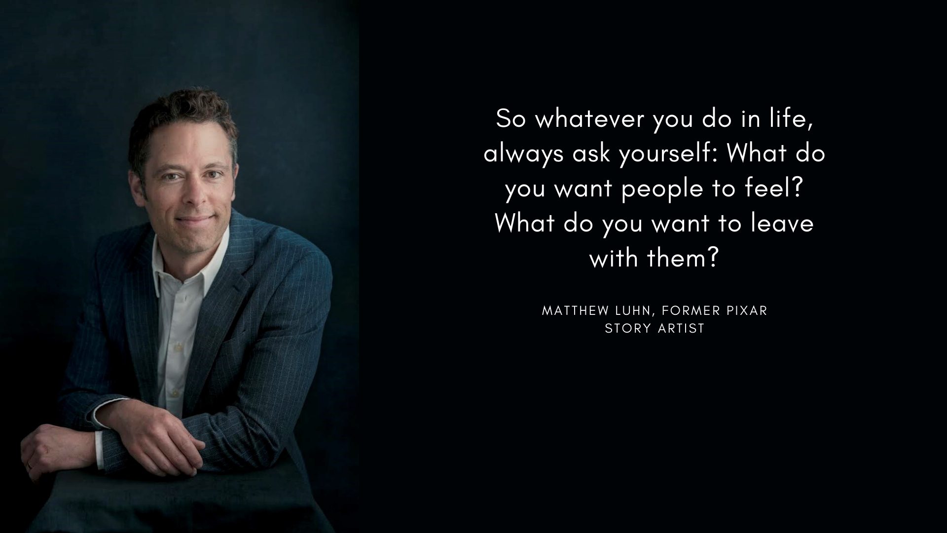 Matthew Luhn motivational quote